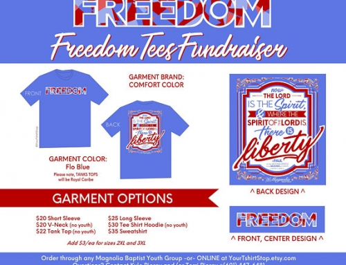 Freedom T-shirt Youth Fundraiser