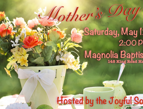 Mother's Day Tea 2018